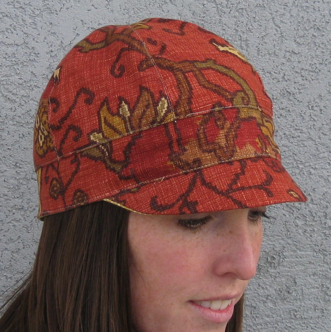 Newsboy hat pattern - Slipcovers by Shelley babb8c299986