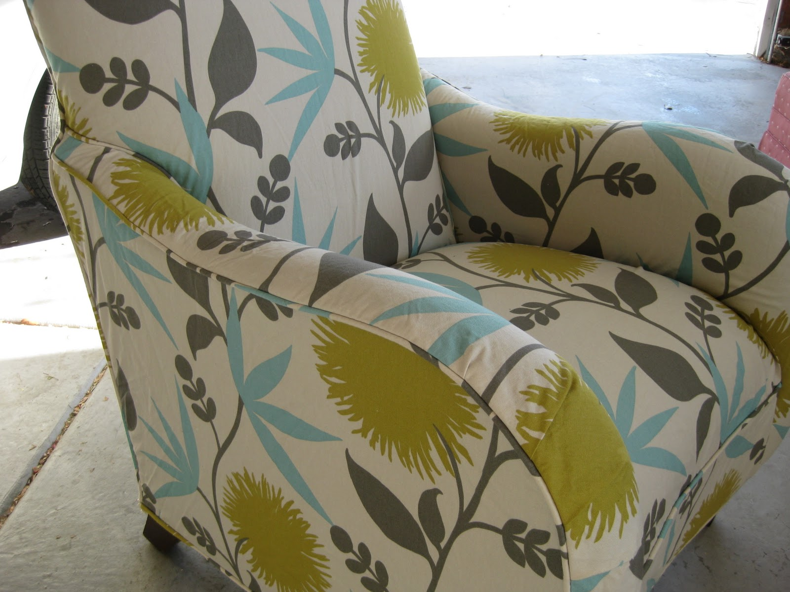 Captivating Modern Floral Chair