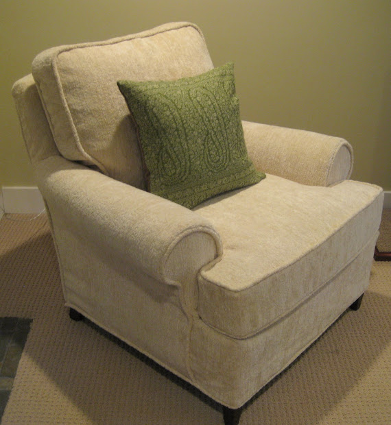 Custom Slipcovers Shelley Club Chair