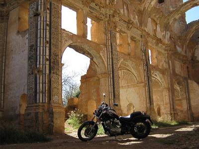 Las ruinas de Belchite, campo de batalla