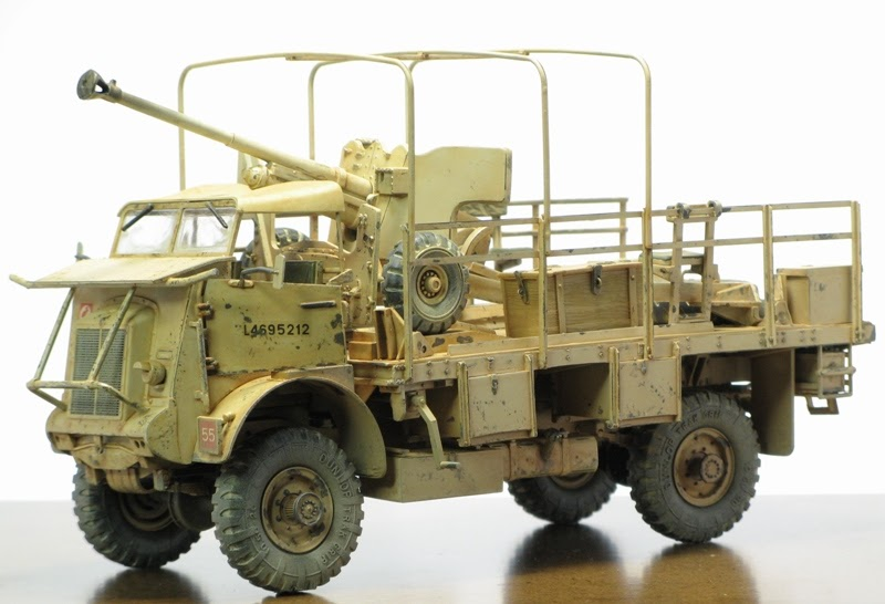 Model Kits Collection: Italeri 1:35 Bedford Truck