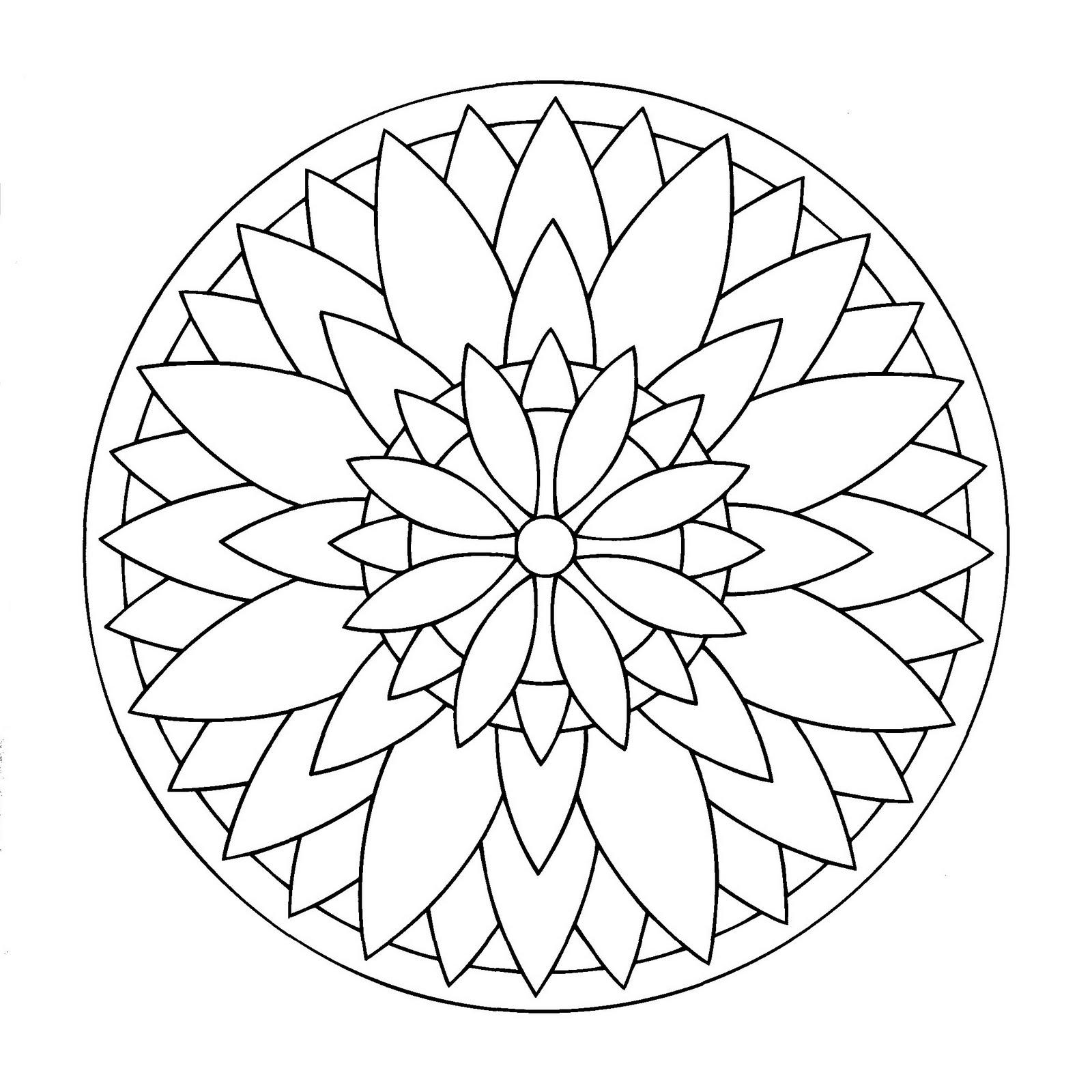 Mandales On Pinterest  Mandalas, Mandala Coloring Pages