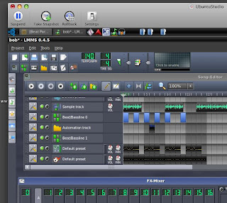 DJ Dual Core's Old Mix Tapes: Linux Music Production Comparo