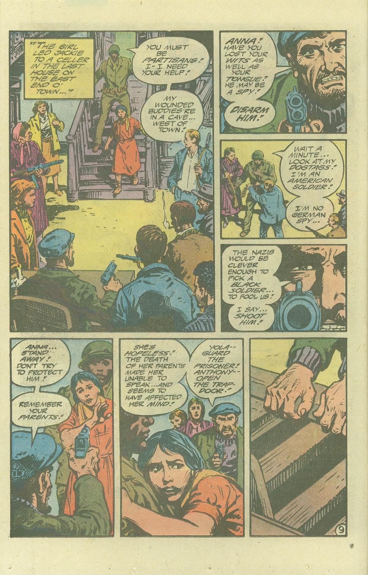 Read online Sgt. Rock comic -  Issue #386 - 9