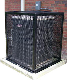 Security Cages Protective Metal Cages For Air