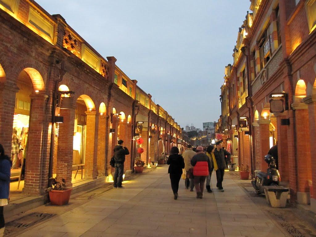 Chentung's Blog: 三峽老街,客家文物園區,鶯歌老街,南雅夜市