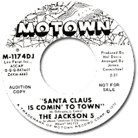 The Jackson Five rendition to Santa Claus Is Comin' To Town hit #1 on The Special Christmas Singles Charts for both 1970 and 1971