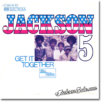 The Jackson Five only enjoyed moderate success with the Get It Together single coming out at #28