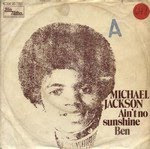 In 1972 Michael Jackson does a cover to Bill Withers Ain't No Sunshine