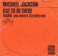Michael Jackson's very first single Got To Be There scored really well on the charts