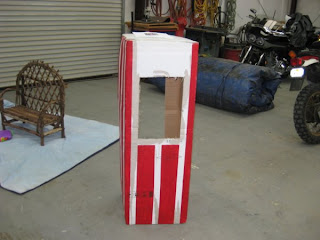 Craft Time Home Made Carnival Ticket Booth