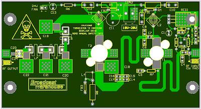 150 WATT FM AMPLIFIER BASED SD1407   RF Circuits