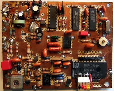 88-108 MHz PLL FM Synthesizer : Electronic circuits KITS AND