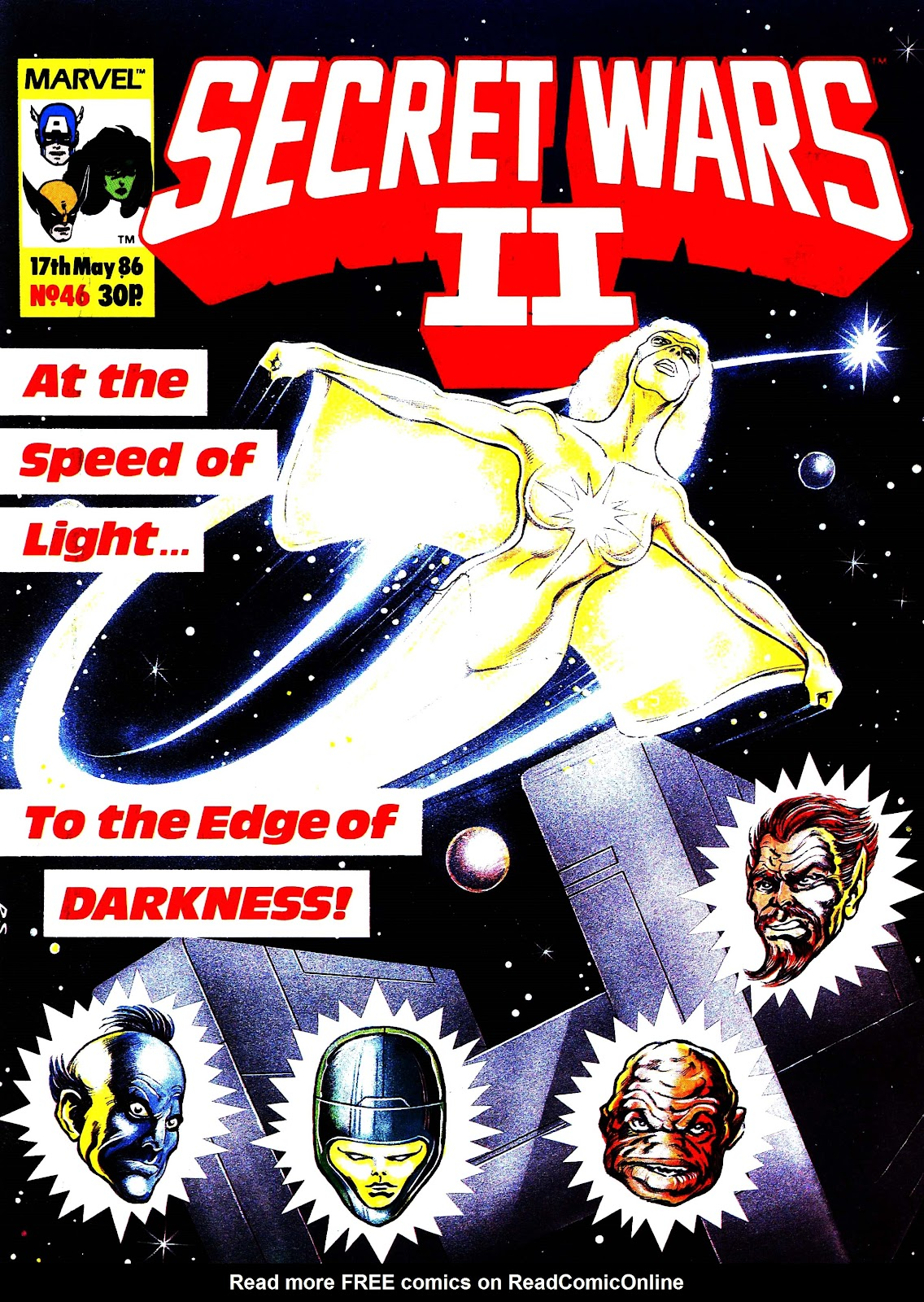 Secret Wars (1985) issue 46 - Page 1