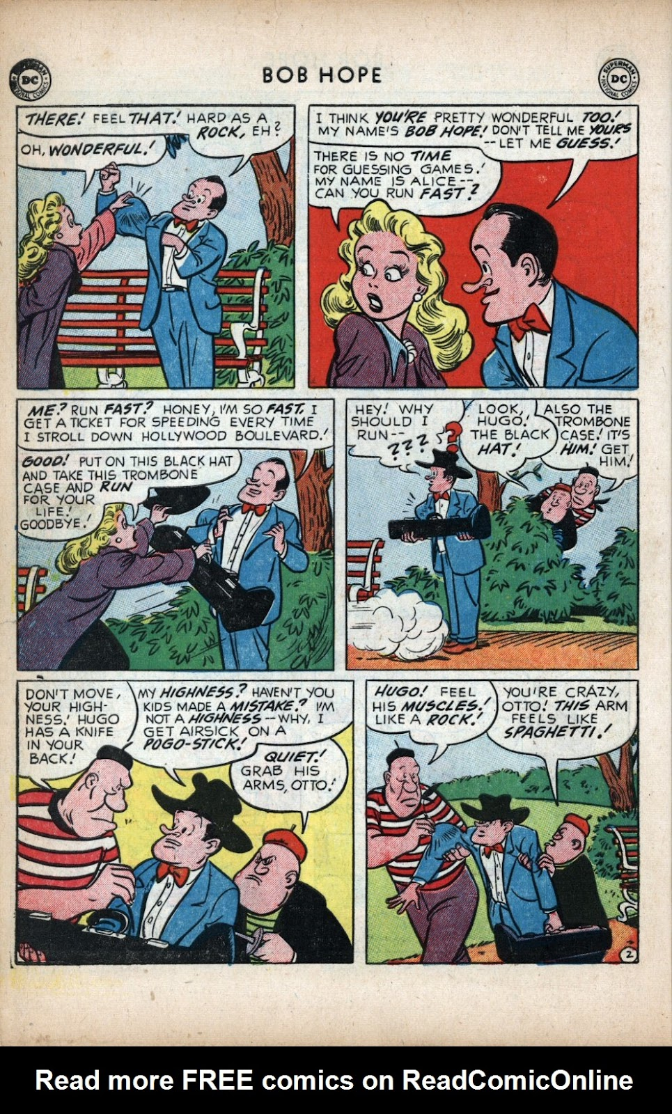 The Adventures of Bob Hope issue 11 - Page 12