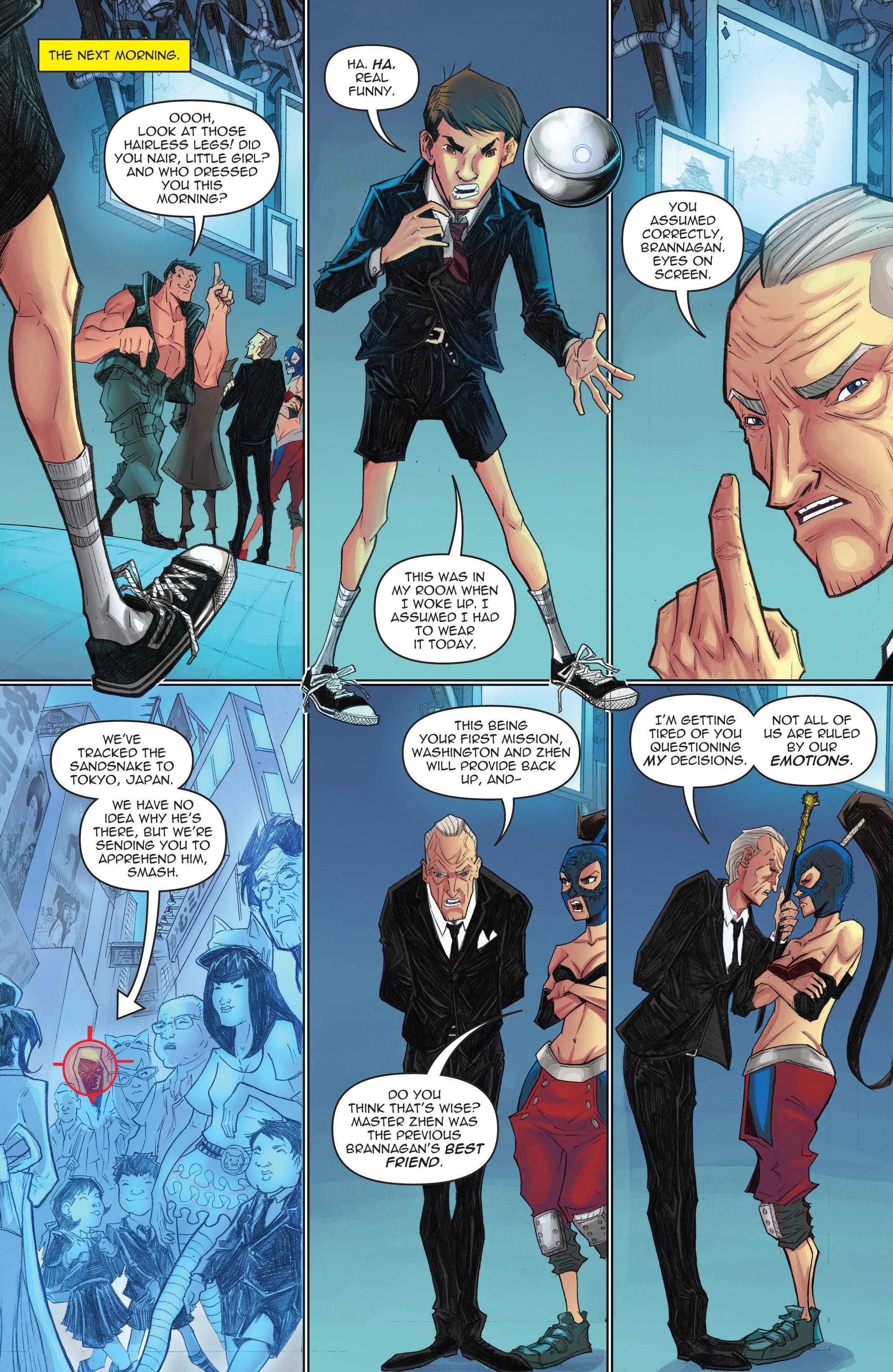 Read online Infinite Seven comic -  Issue #3 - 10
