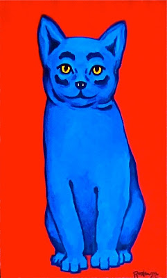 Image of: Kittens The Blue Cat Hills Pet Nutrition Musings Of An Artists Wife The Blue Cat