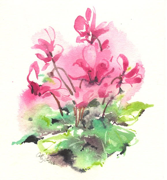 Cathy Johnson Art Life And Other Oddities Cyclamen