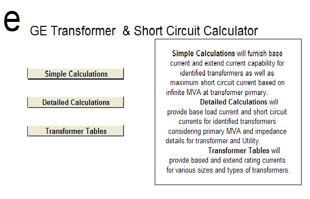 Transformer Calculations Spreadsheets ~ Electrical Knowhow
