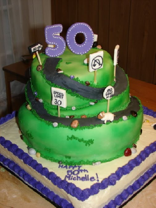 My Cake Hobby Over The Hill