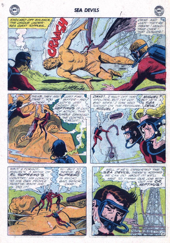 Read online Sea Devils comic -  Issue #25 - 19