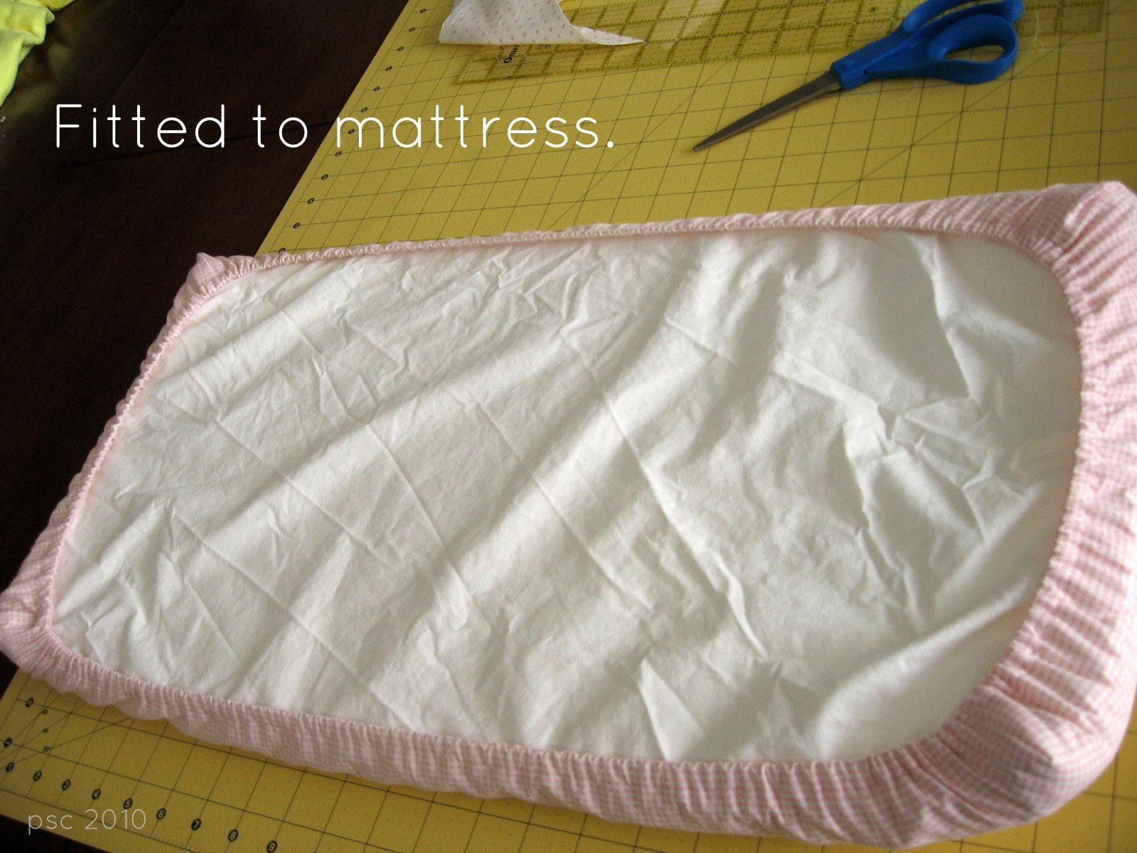 Pickup Some Creativity Doll Crib Mattress And Sheet Tutorial