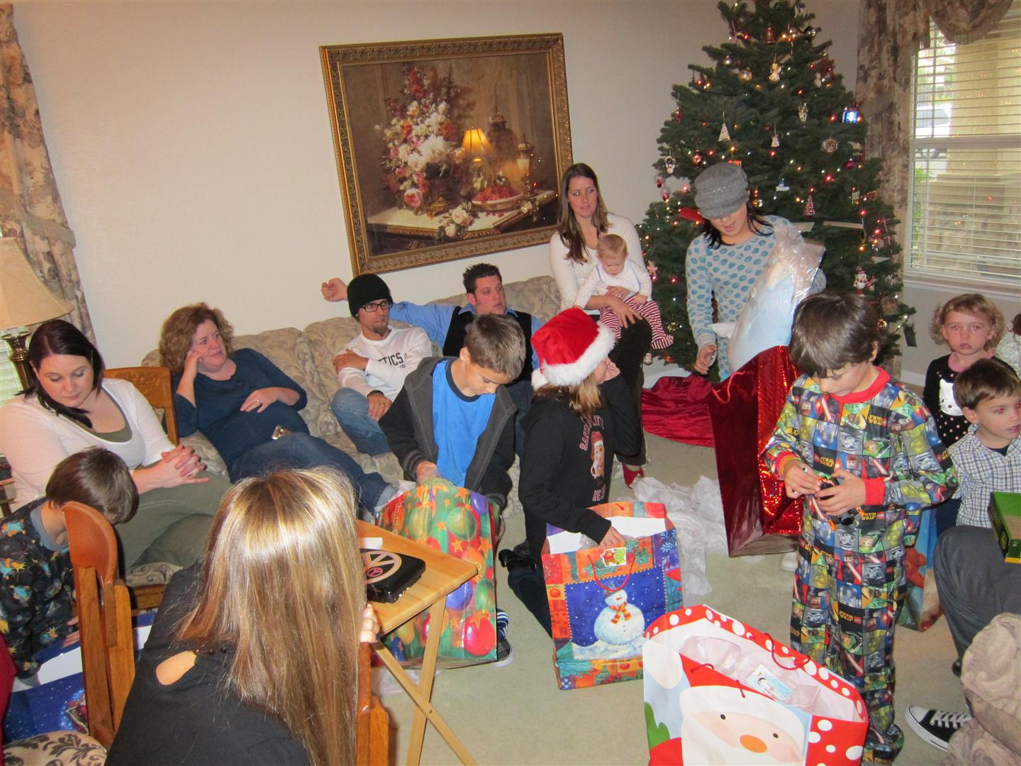 Adventures with twins: Christmas Day