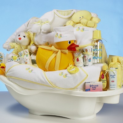 Canasta de regalos para Baby Shower