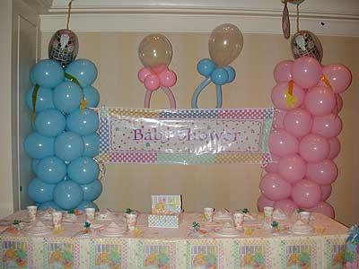 Baby shower de gemelos - Decoracion para baby shower ...