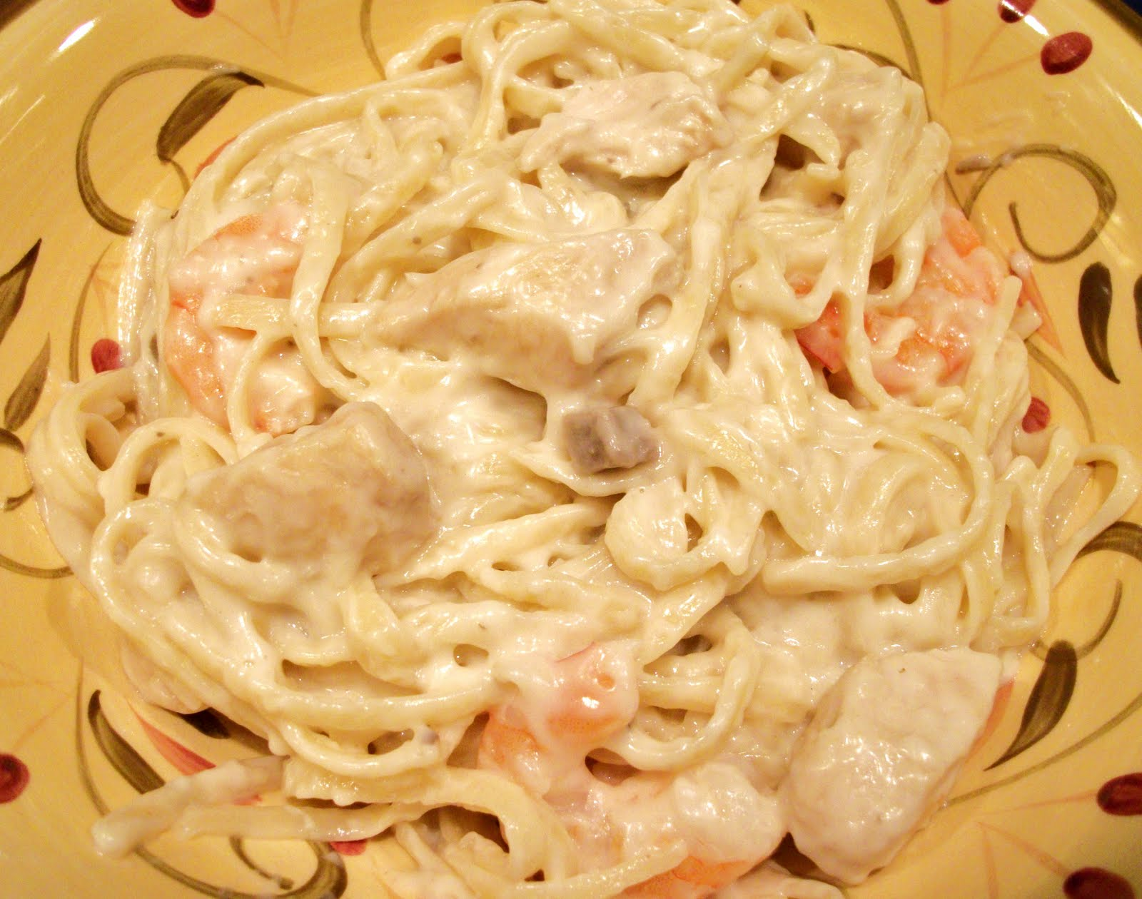how to make alfredo sauce with cream of chicken soup