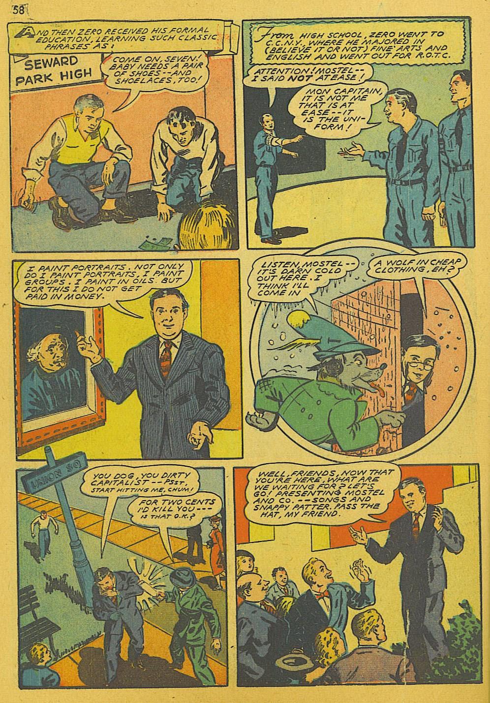 Read online Super-Magician Comics comic -  Issue #10 - 58