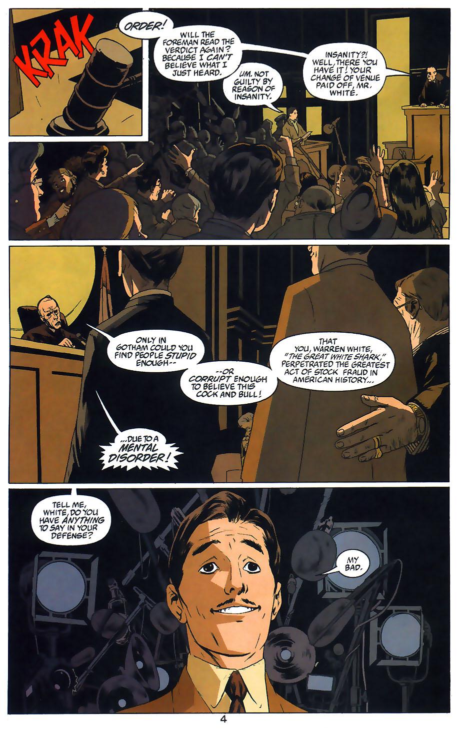 Read online Arkham Asylum: Living Hell comic -  Issue #1 - 6