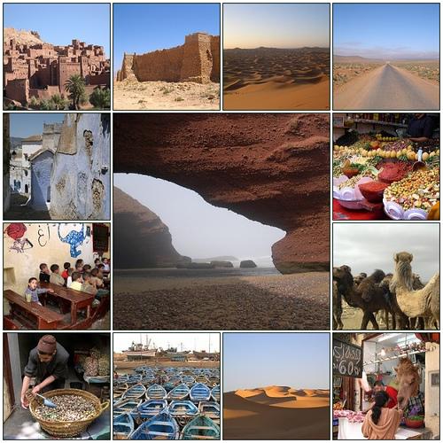 Elevernas Spraklankar En Resa Till Marocko
