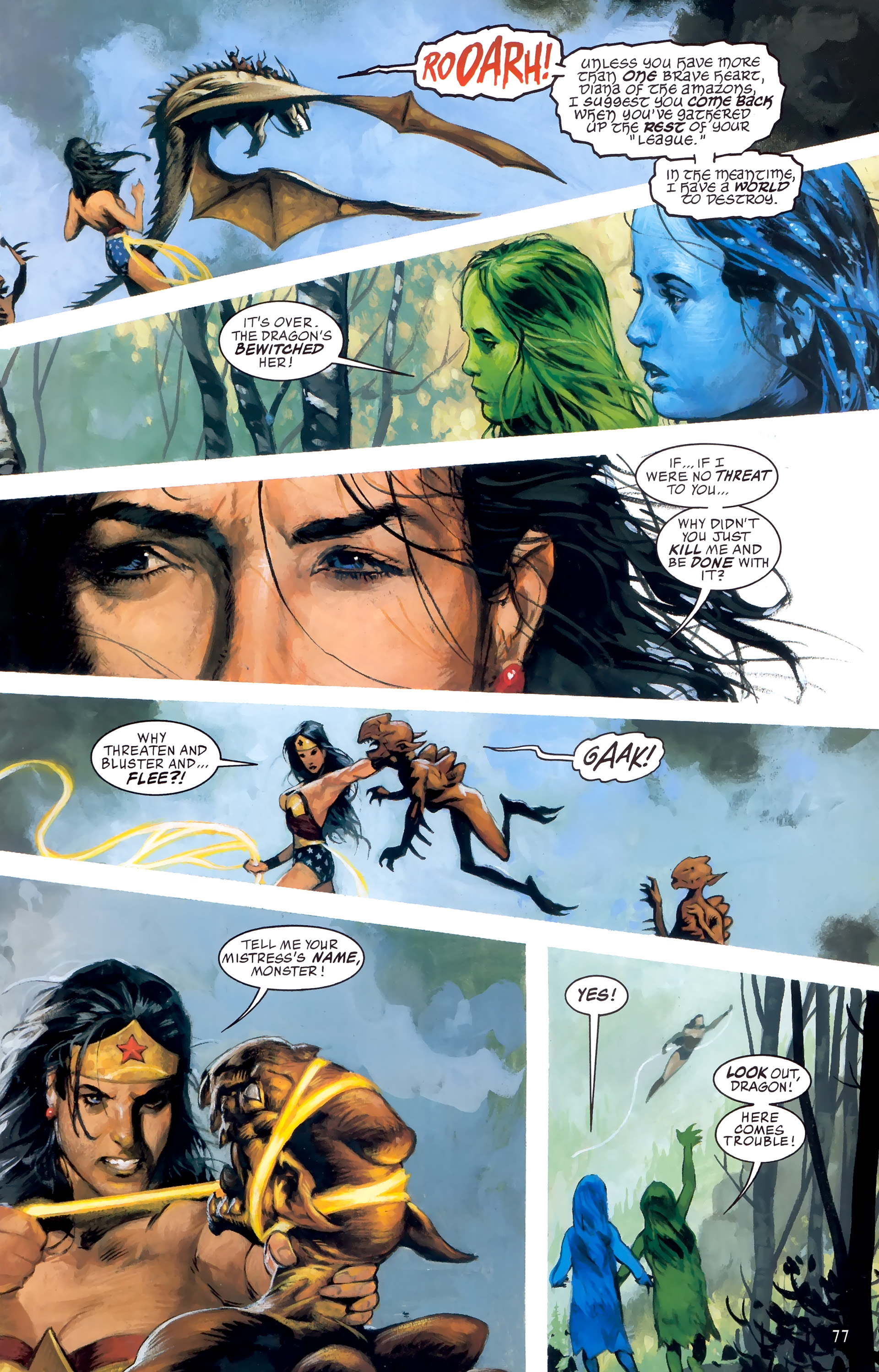 Read online JLA: A League of One comic -  Issue # Full - 84