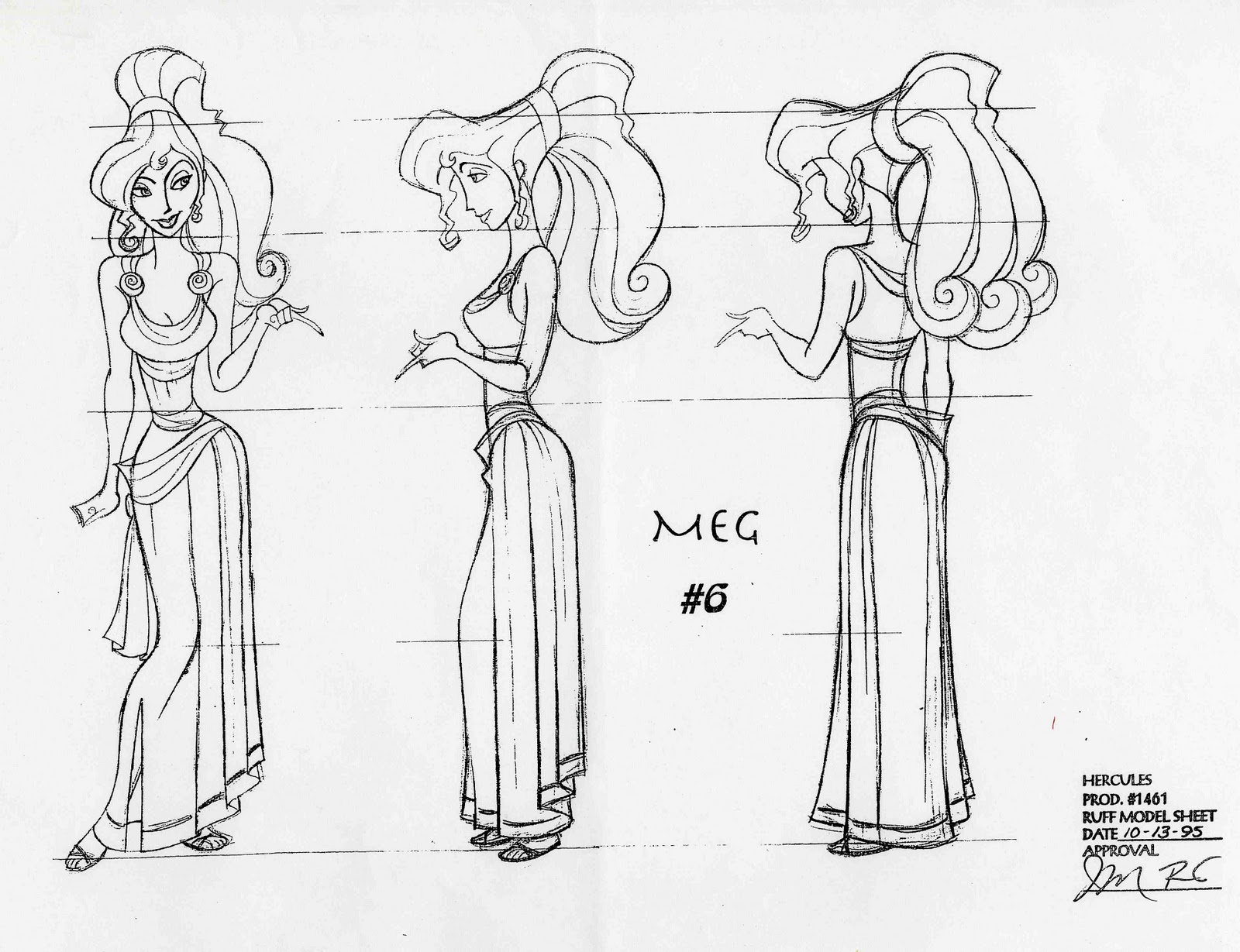 Character and Creature Design Notes: Model Sheets 101-Part 1