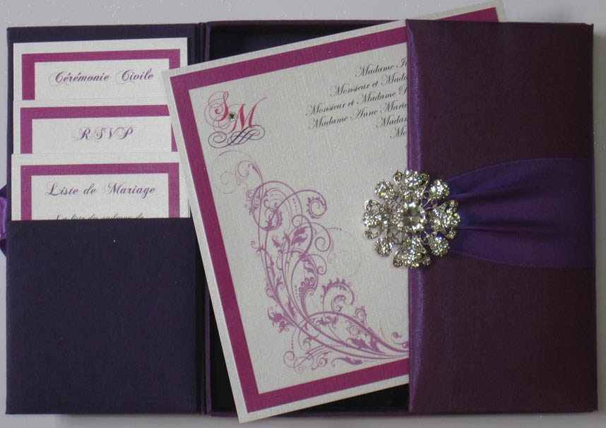 Boxed Wedding Invitations Wholesale