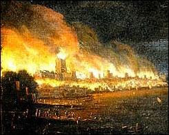 Nanny Bans Great Fire of London