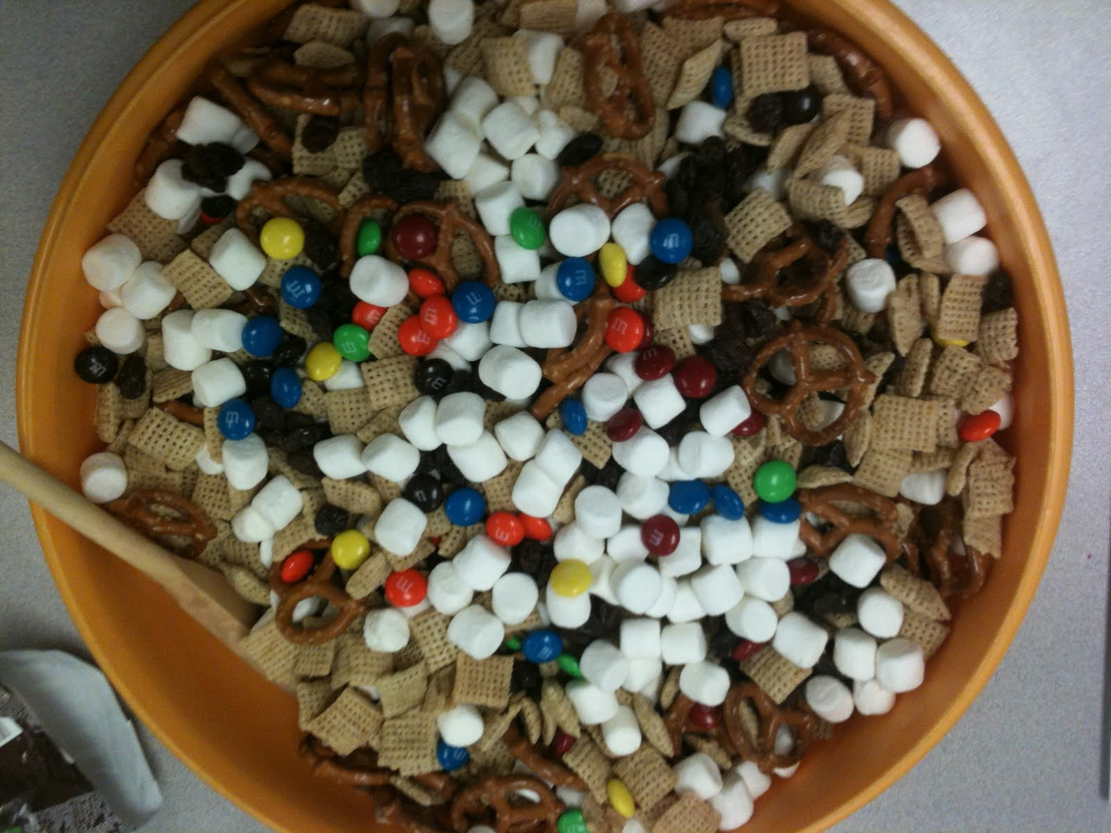Fourth Grade Nothings Chex Mix Ture