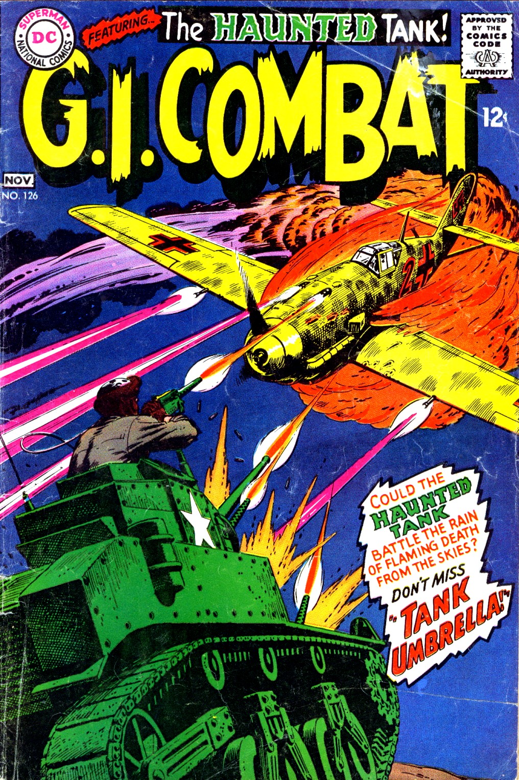 G.I. Combat (1952) issue 126 - Page 1