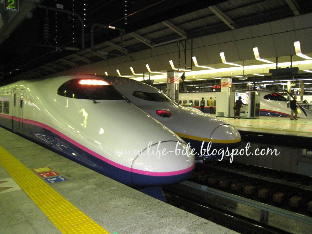 Moments In My Life All About Japan Rail Bullet Train Aka