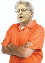 Nifong will be in an orange prison suit