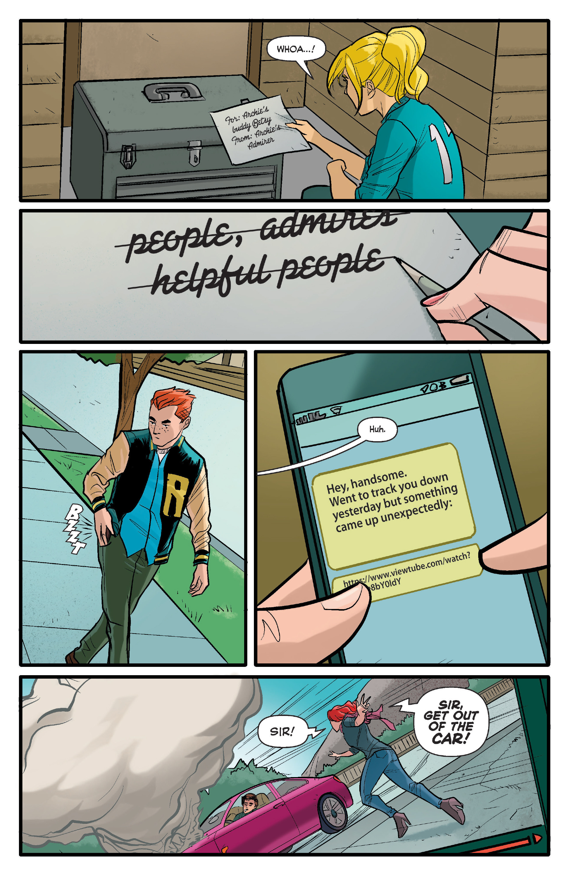 Read online Archie (2015) comic -  Issue #17 - 14