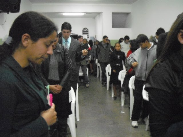 Onde O Espírito De Deus Está Colo De Deus Reinflama: Min. Do Jd. Vera Cruz