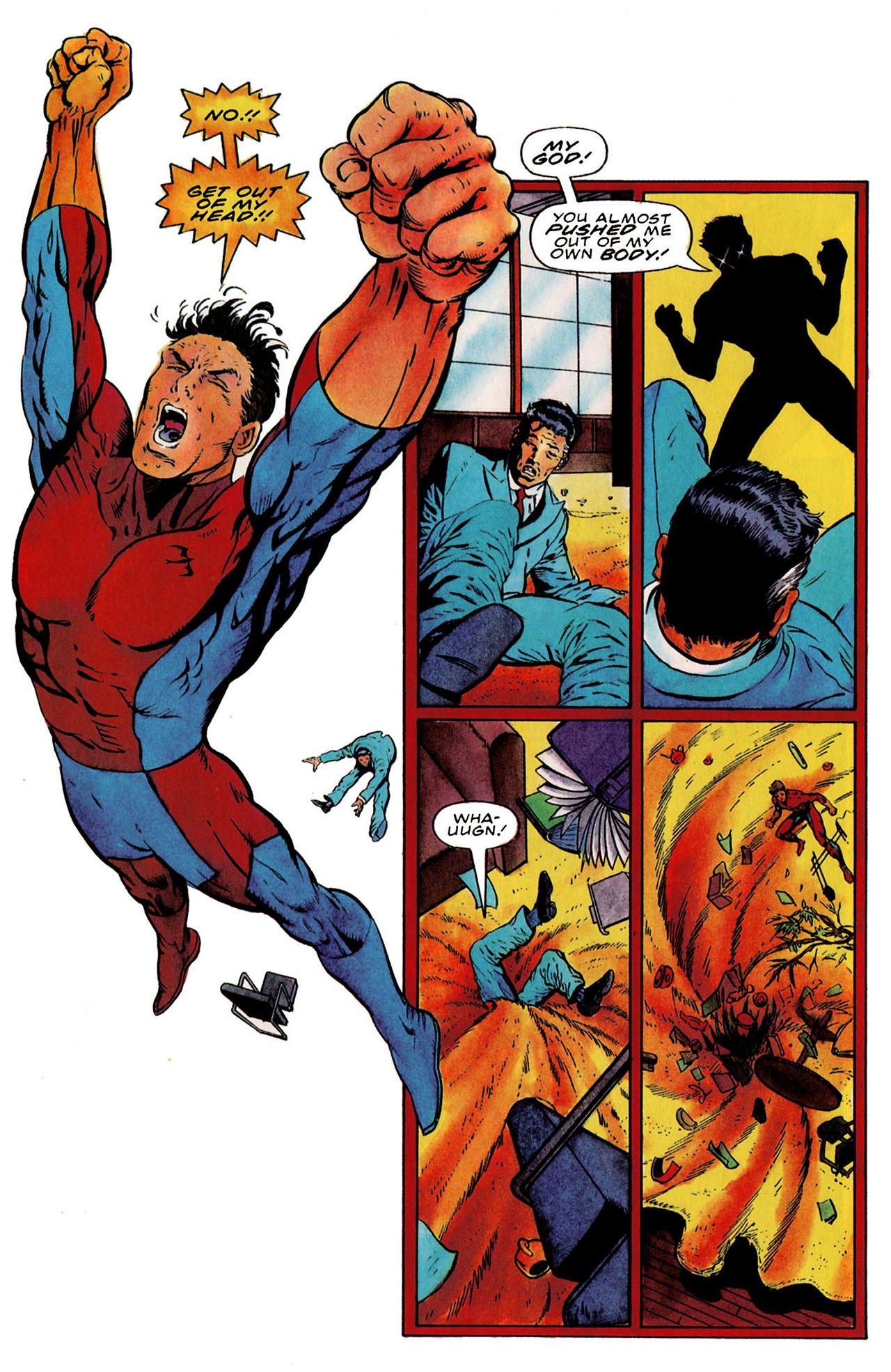 Read online Harbinger (1992) comic -  Issue #25 - 23