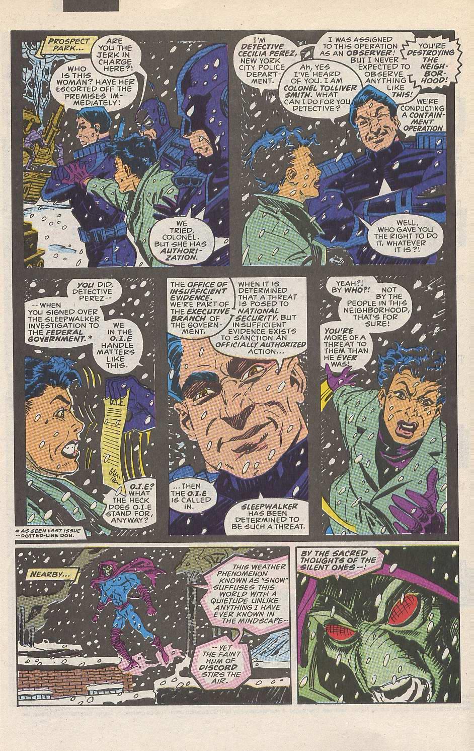 Read online Sleepwalker comic -  Issue #10 - 7