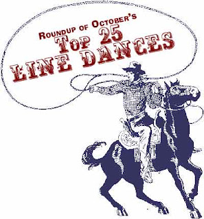 top 25 line dances - october