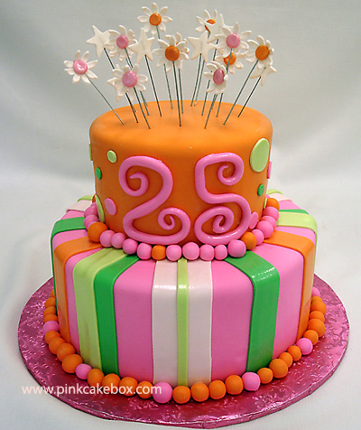 When Did I Get So Old In Honor Of My Major Milestone Wanted To Share With You A Few Fun Birthday Cakes Found Online Made For 25 Year