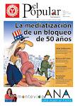 Portada de El Popular 26/03/2010