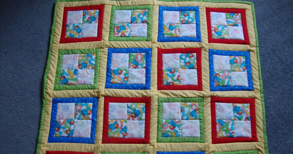 Jen S Crafts And Quilts Scrapbook 2009 Paddington Bear Quilt