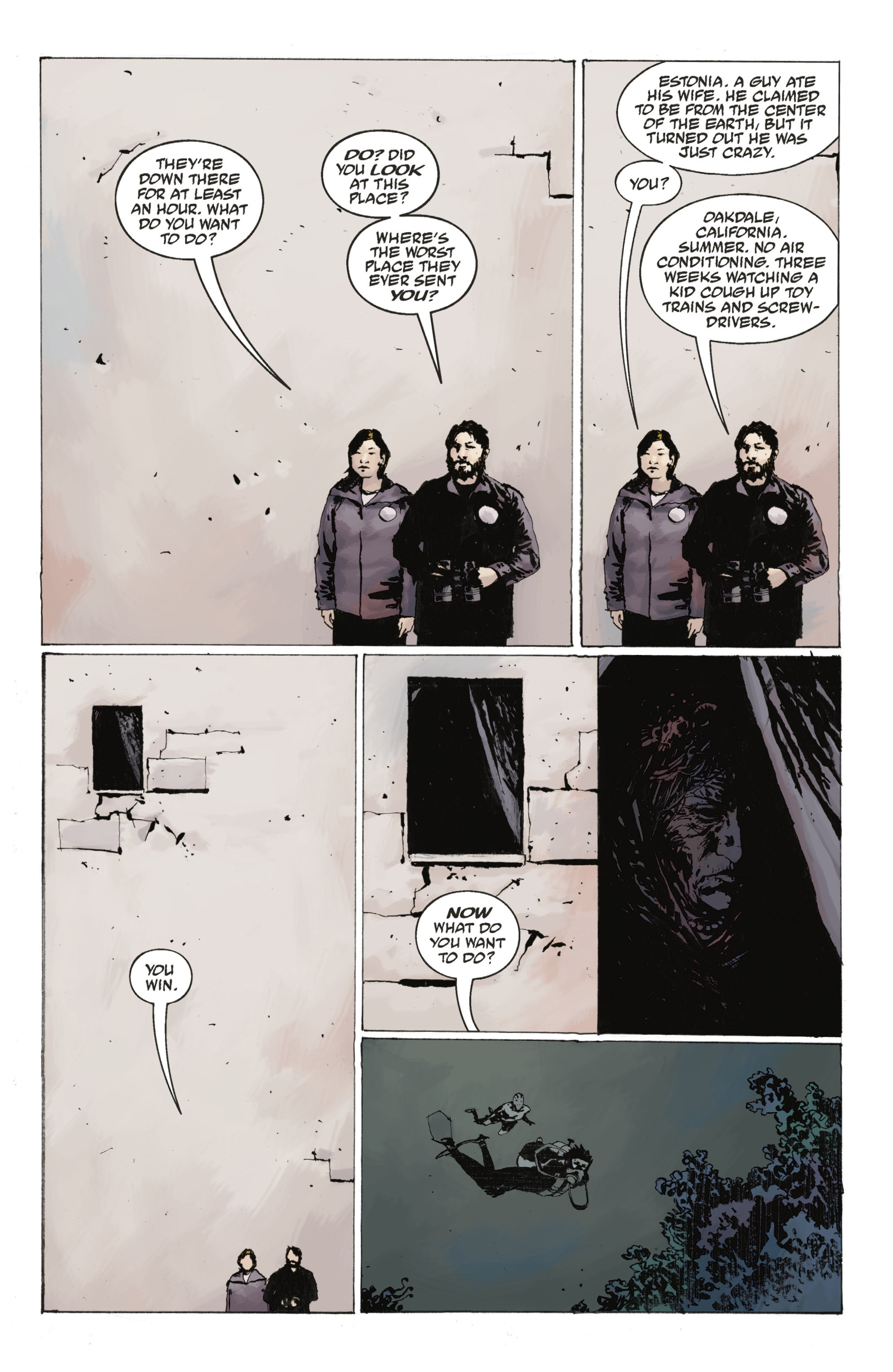 Read online Abe Sapien: The Drowning comic -  Issue #Abe Sapien: The Drowning _TPB - 28